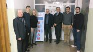 Representative GEANT visit to NOC RENAM