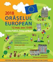 12-13 mai 2018 – Orăşelul European 2018