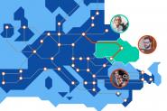 """Comunitățile de cercetare și educație din Moldova și Ucraina beneficiază de o nouă conexiune """"spectrum"""" cu GÉANT"""